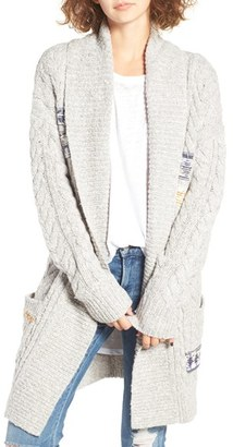 Women's Bp. Texture Stripe Knit Cardigan $75 thestylecure.com