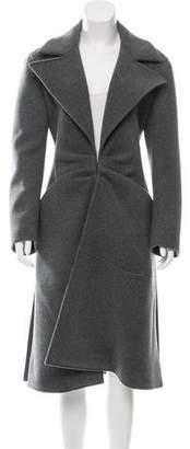 Roberta Furlanetto Wool Long Coat w/ Tags