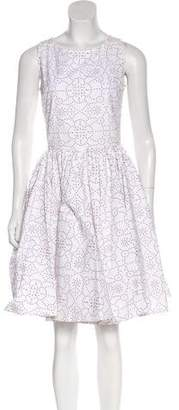 Alaia Embroidered Knee-Length Dress
