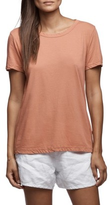 Women's James Perse Clean Graphic Tee $105 thestylecure.com