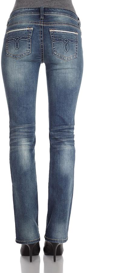 London Dark Wash Bootcut Jeans