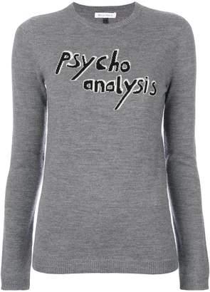 Bella Freud スローガン セーター