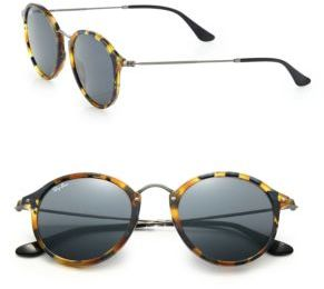 Ray-Ban 55MM Round Sunglasses $160 thestylecure.com