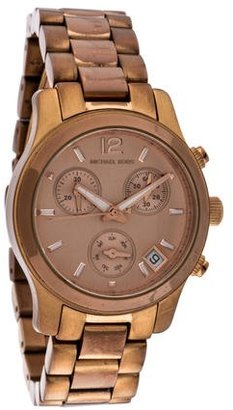 Michael Kors Runway Chronograph Watch $95 thestylecure.com