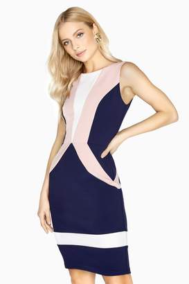 Paper Dolls Chaumont colour Block Dress