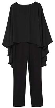 MANGO Doble-layer jumpsuit