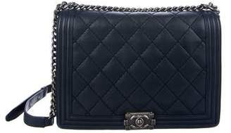 Chanel Double Stitch Large Boy Bag