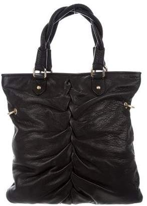 Botkier Ruched Leather Bag