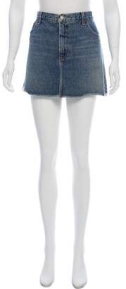 Marc by Marc Jacobs Mini Denim Skirt
