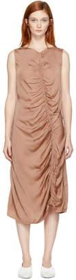 Raquel Allegra Pink Liquid Satin Dress