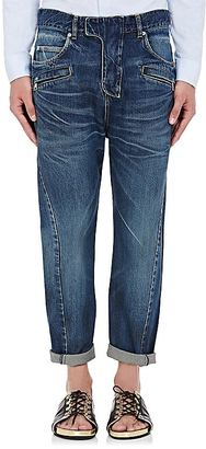 Balmain BALMAIN MEN'S DROP-RISE CROP JEANS $1,385 thestylecure.com