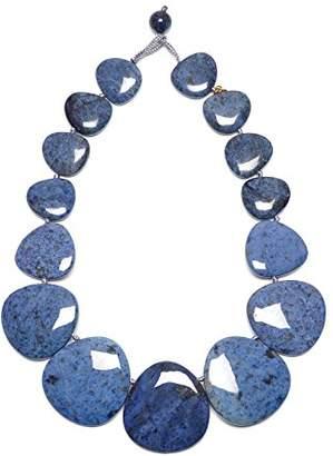 Lola Rose Women Blue Coral Quartz Strand Necklace of Length 25cm 690188