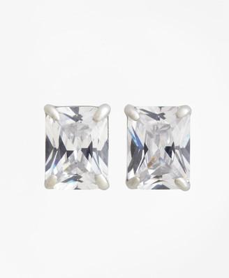 Brooks Brothers Radiant-Cut Stud Earrings