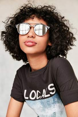 Urban Outfitters St.Tropez Half-Frame Sunglasses $16 thestylecure.com