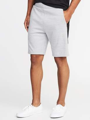 Old Navy Go-Dry Double-Knit Performance Shorts for Men - 9-inch inseam
