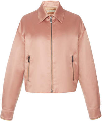 Bottega Veneta Cotton and Silk-Blend Bomber Jacket