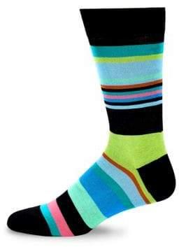Bugatchi Colorblock Crew Socks
