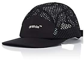 Off-White Men's Logo-Print Mesh & Ripstop Cap-Black