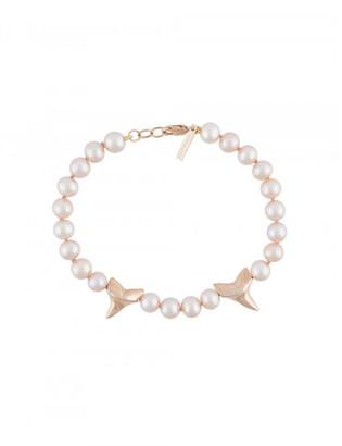 Nektar de Stagni 'costa mesa exclusive' pearls bracelet $845 thestylecure.com