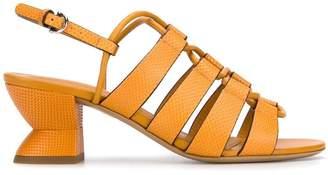 Salvatore Ferragamo structural heel sandals