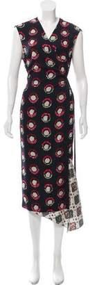 Dries Van Noten Printed Wrap Dress