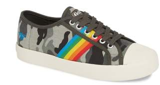 Gola Coaster Rainbow Striped Sneaker
