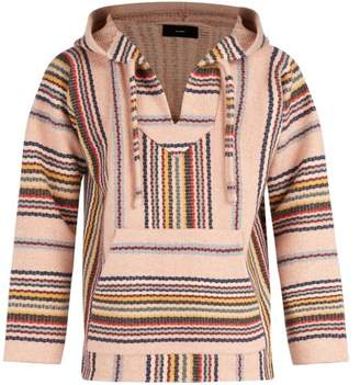 Alanui - Geometric Cashmere Hooded Sweater - Mens - Pink