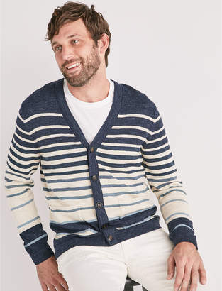Lucky Brand Welterweight Striped Cardigan