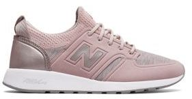 New Balance Lace-Up Low Top Sneakers $84.95 thestylecure.com