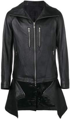 D.Gnak hooded zipped jacket
