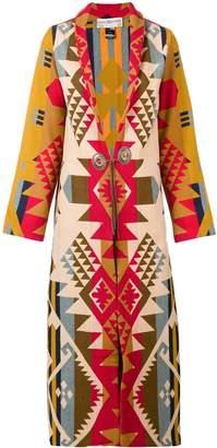 Jessie Western long duster blanket coat