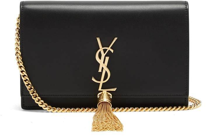 SAINT LAURENT Kate small smooth-leather cross-body bag