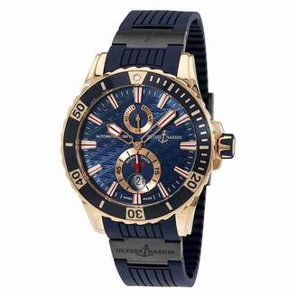Ulysse Nardin Maxi Marine Diver Automatic Men's Watch 266-10-3C-93