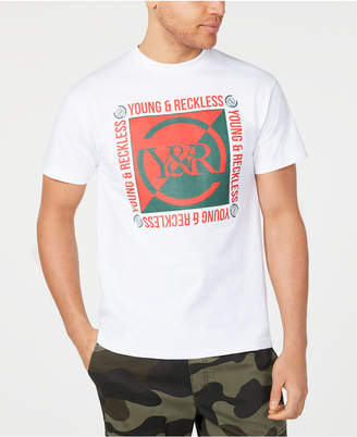 uk availability 1f57a 9c6fa Young   Reckless Men Section Logo T-Shirt