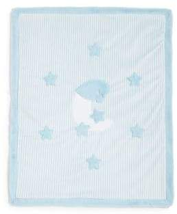 Boogie Baby Baby's Striped Moon& Stars Blanket