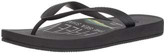 Freewaters Men's Archie Lightweight Vegan Water-Friendly Flip Flop Arch Support Geta and Zori Sandal