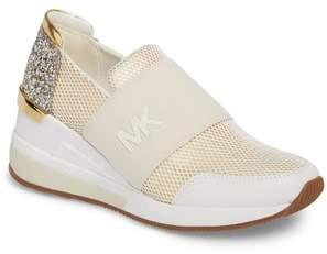 MICHAEL Michael Kors Felix Slip-On Glitter Sneaker