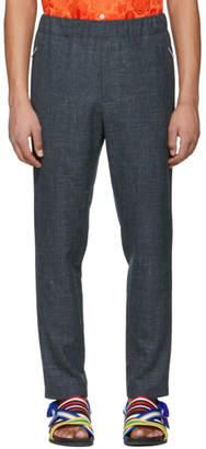 Stella McCartney Grey Wool and Linen Piet Trousers