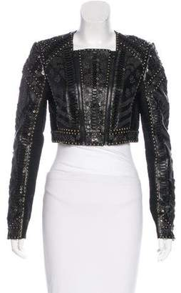 Herve Leger Kiora Embellished Jacket w/ Tags