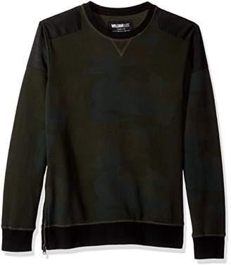 William Rast Men's Hal Crewneck Sweatshirt