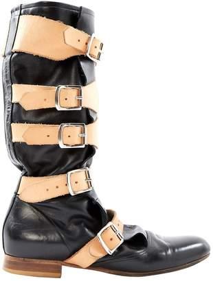 Vivienne Westwood Black Leather Boots