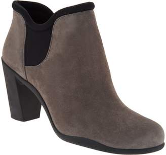 Clarks Artisan Suede Slip-on Boots with Gore - Adya Bella