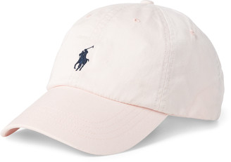 Ralph Lauren Pink Pony Cotton Baseball Cap