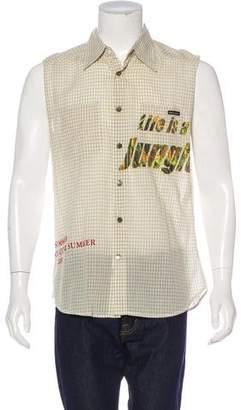 Dolce & Gabbana Sleeveless Printed Shirt