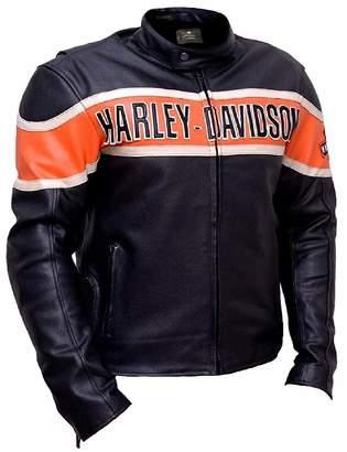 Harley-Davidson Sartorial Art Biker Genuine Leather Jacket Style Motorcycle