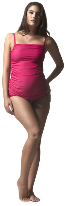 Ruched Cami Swimsuit