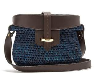 Khokho - Jabu Mini Basket Bag - Womens - Navy Multi