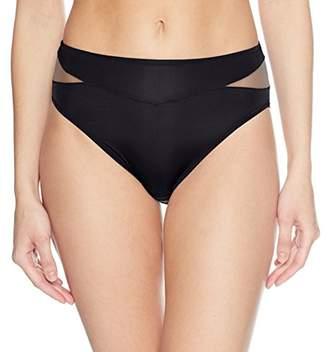 Vanity Fair Women's Breathable Luxe Hi Cut Panty 13185