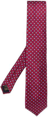 Corneliani geometric pattern tie