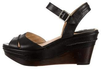 Frye Wedge Platform Sandals